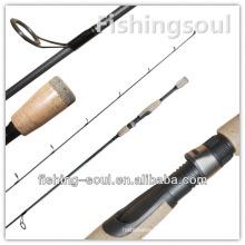 SPR047 Équipement d'extérieur, 1 section, canne à pêche de filature de carbone