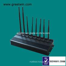 433MHz 315MHz Alarm Jammer Mobile Phone Signal Jammer Adjustable Jammer (GW-JA8)