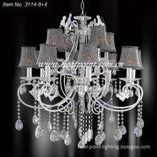 Modern Crystal Lamp (HP3114-8+4)