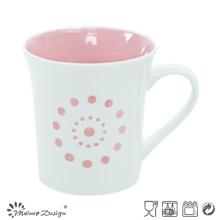 11oz taza de color brillante porcelana con precio barato