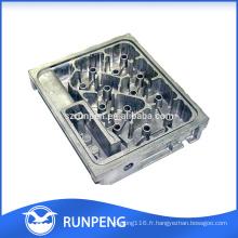 Couvercle moulé en aluminium haute qualité pour produits de communication
