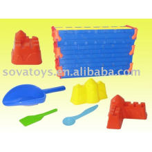 907062645-Beach castle toy w/big spade
