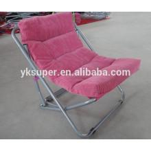 Novo design deluxe sun backrest cadeira de praia relaxante