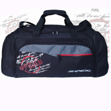 Popular Polyester Sports Travel Gym Fitness Shoulder Duffle Sports Bag