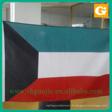 Nouveau drapeau national 100% polyester inde avec un bon service
