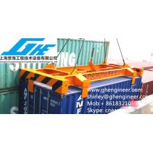 Spreader semiautomático de contenedores de 20 pies
