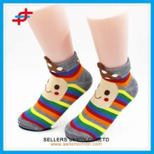 2015 Großhandel Kinder 3D Anlimal Tube Cartoon Socken / Kinder nach Maß Socken