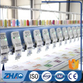 27 Heads flat computerized high speed embroidery machine for sale