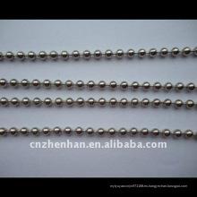 Bola de acero inoxidable cadena-4.5mm bola de metal cadena-cortina accesorios-enrollar cadenas ciegas