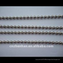 Bola de aço inoxidável esferas cadeia-4,5 milímetros bola de metal corrente-cortina acessório-rolo cadeias cegas