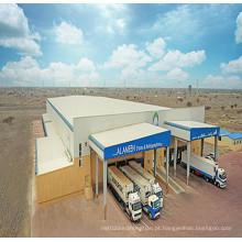 Construção de oficina de indústria de estrutura de aço