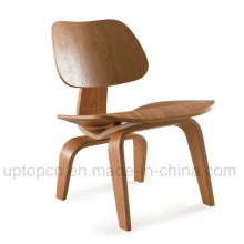 Leisure Armless Cafe Dining Room Bistro Brown Plywood Chair (SP-BC466)