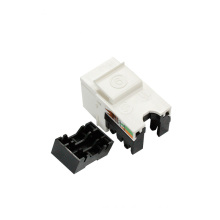 Hot sale Cat6 rj45 UTP 90 degree keystone jack