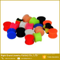 Silicone Ear Flesh Tunnels Eyelets Glow in the Dark Saddle Ear Plugs Gauges