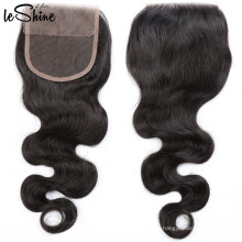 Best Selling Cuticle Aligned Raw Indian Closure Human Hair Extensions Wholesale