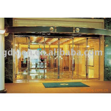 glass automatic sliding door