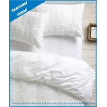 Conjunto de cama de algodão Premium Seersucker Duvet Cover