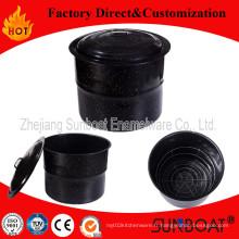 Sunq Cuatomized 7.5qt émail pot de ménage vaisselle Sunboat