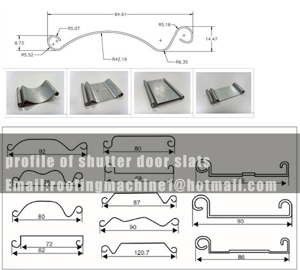 shutter door profile