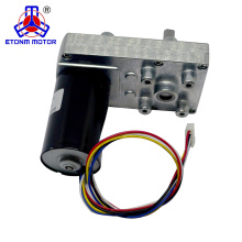 2018 hot long lifetime electric motor double shaft bldc dc motor 24 volt for valve