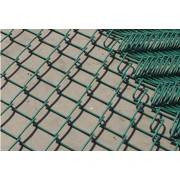 PVC Coated Chain Link Fence/Chain Link Wire Mesh