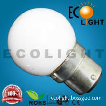 White Color Bulb! CE approved colorful incandescent bulb G40