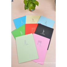 Colored Paper Notebook Child Drawing Book