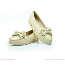Zapatos de mujer PU Zapatos ocasionales Zapatos de ocio Mujer Zapatos planos