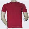 Tela de malla 100% poliéster humedad Wicking T-Shirt - 002