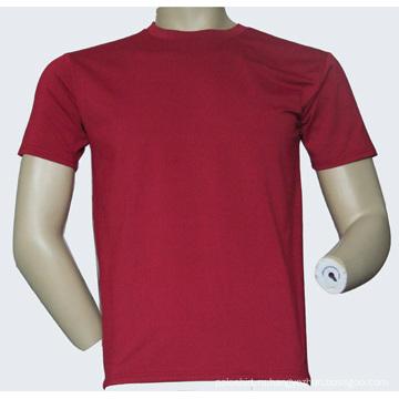 Ткань сетки 100% полиэстер Впитывающая влагу футболка - 002