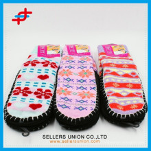 Colorful Adult Hand Crochet Cute Indoor Slipper Sock