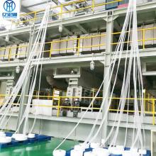 Linha de produção de tecido não tecido SSS para fraldas de bebê
