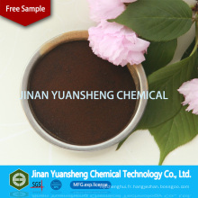 Poudre additive de lignosulfonate de sodium pour bronzage