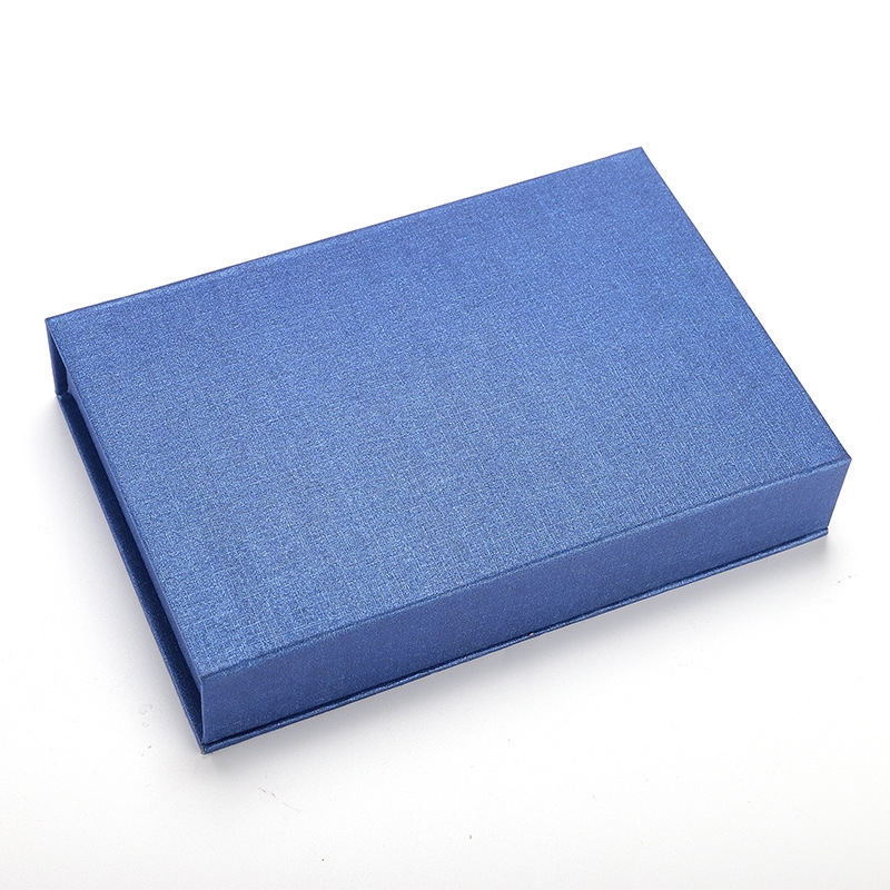 Blue Book Shaped Magnetic Rigid Gift Box