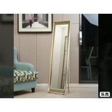 O material plástico enquadrou o assoalho que está o espelho de limpeza 35x137cm 45x150cm