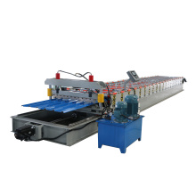 Trapezoidal Profile Roof Wall Panel Roll Forming Machine