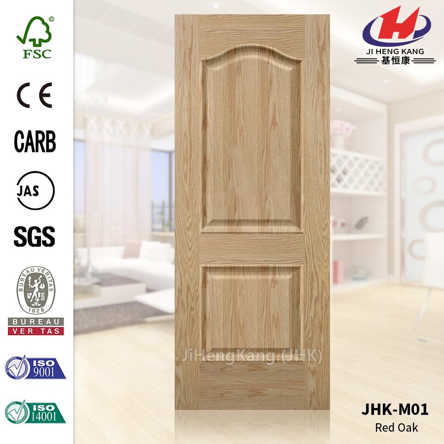 Red Oak Veneer Door Skin