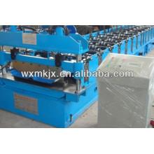 Máquina formadora de rollos de panel de tejado articulado