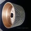 alta qualidade galvanizado pastilha de freio diamante rebolo