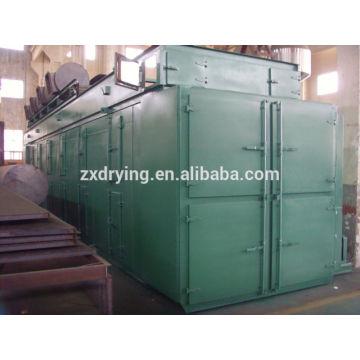 Dehydrated vegetable conveyor belt dryer