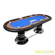 "96 ""x 42"" professionellen Spieler Sockelelement Poker Tische blau"