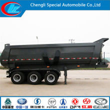 Hottest! 30ton 40t 50000kg U Shape Heavy Duty Dump Trailer