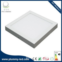 high lumen RoHS CE 20w square led ceiling light panel