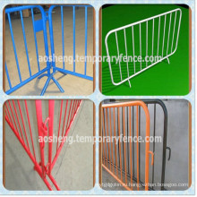 Hot-DIP+Galvanized+Crowd+Control+Barrier%2FPedestrian+Safety+Barrier%2FTemporary+Fence+Barrier