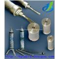 Fil d'acier gainé d'aluminium, câble d'alimentation