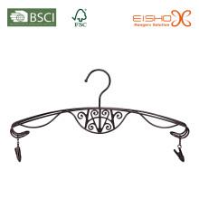 Cinthe de lingerie en métal élégant avec finition en étain
