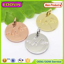 Fashion Jewelry Custom Logo Metal Tag for Bracelet