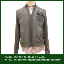 Men's Sweater Jacket with Cotton Lining Nbzf0034