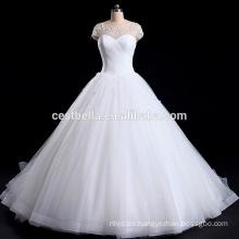 Alibaba vestido de novia con escote corazón y vestido de novia vestido de bola