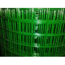 Boa qualidade PVC revestido de malha de arame soldado